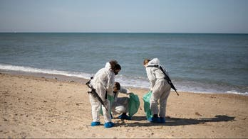 Israel beaches covered in tar after oil spill