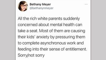 California teacher slams 'rich white parents' worried for kids' health in deleted tweet: 'Sorry/not sorry'