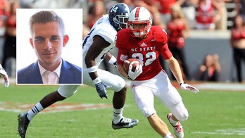 North Carolina Rep. Foxx challenged by former college football player Bo Hines, 25