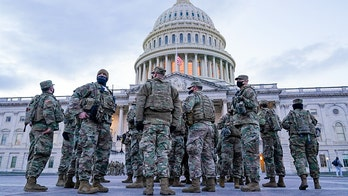 National Guard member takes photo with every US Senator: 'I couldn't believe it'