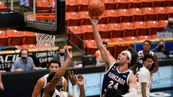 Timme's late spark lifts No. 1 Gonzaga past Pacific 76-58