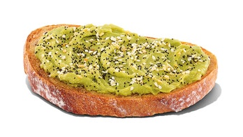 Dunkin' adding avocado toast, grilled cheeses to spring menu