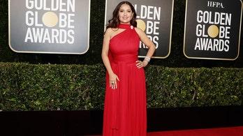 Salma Hayek's Golden Globe ensemble impresses fans: 'Speaking of flawless'