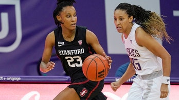 No. 6 Stanford uses fast start to roll past Washington 74-48