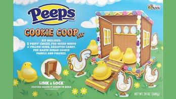 Peeps selling DIY 'Cookie Coop' kits ahead of Easter