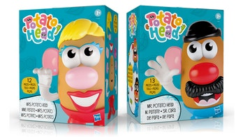 Hasbro rebranding Mr. Potato Head toy line as gender-neutral 'Potato Head,' but not renaming individual toys