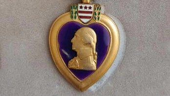 Arizona woman returns 1950s Purple Heart to man's family after finding it at thrift store