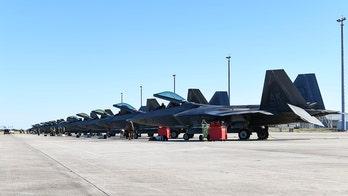 Florida's Tyndall Air Force Base sees jet crash land; pilots hospitalized