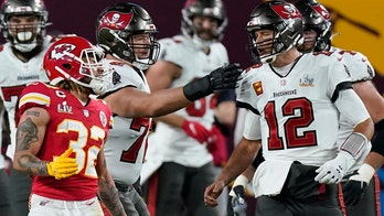 Chiefs' Tyrann Mathieu gets into heated exchange with Tom Brady as Bucs go on to win Super Bowl LV