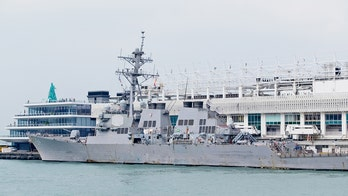 China tracks Navy destroyer in Taiwan Strait, accuses US of undermining regional stability
