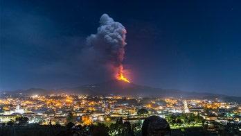 Mount Etna's recent eruption is a spectacular volcanic show