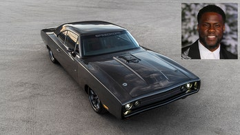 Kevin Hart's 'new' 1970 Dodge Charger is a Hellraiser