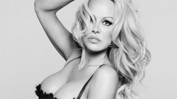 Pam Anderson's lingerie shoot