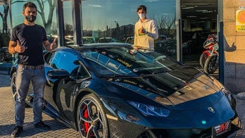 Pro soccer player buys $300G Lamborghini after first goal
