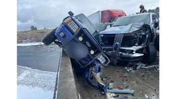 Montana massive 30-car pileup blamed on icy bridge