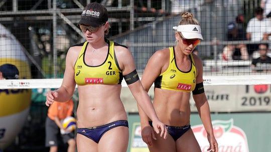 Pro beach volleyball players back out of Qatar tournament over bikini attire