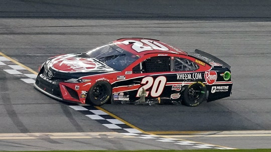 Christopher Bell wins NASCAR Daytona road race to score first Cup Series win