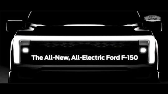 Here's when the electric Ford F-150 goes on sale