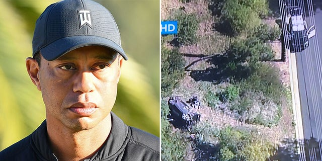 Sports world reacts to Tiger Woods' vehicle  accident, offers encouraging wishes