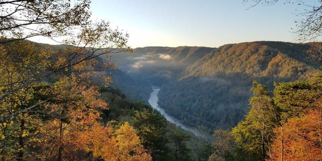 New River Gorge National Park and Preserve encompasses 70,000 acres along 53 miles of the New River. (National Park Service)