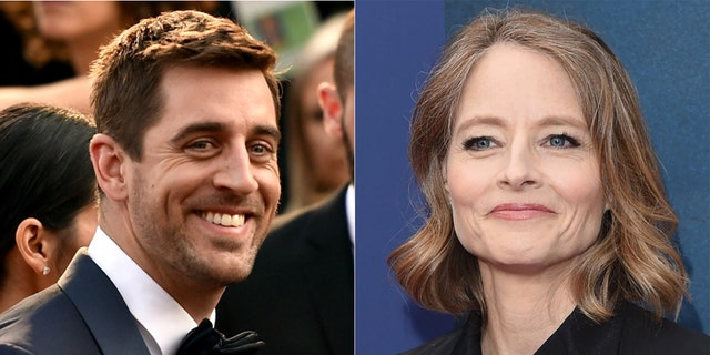 Aaron Rodgers and Jodie Foster thanked each other in their respective acceptance speeches.