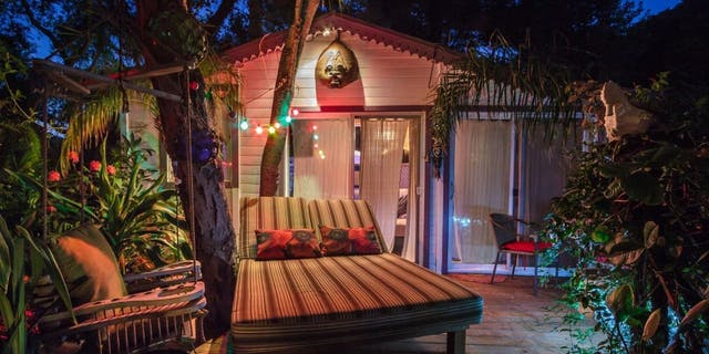 """The California Airbnb listing known as """"Pirates of the Caribbean Getaway"""" is said to be the most wish-listed vacation rental in the state, a company press release states. (Airbnb)"""
