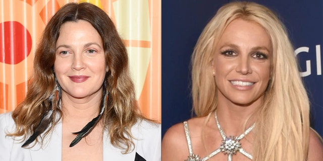 Drew Barrymore shared her support for Britney Spears while revealing her own wild youth stories.