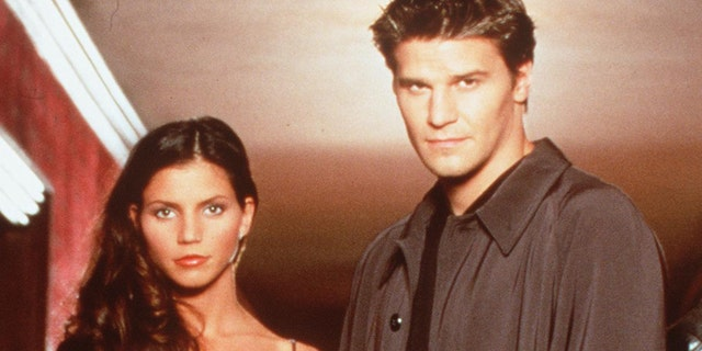 David Boreanaz spoke out in support of his 'Angel' co-star Charisma Carpenter.