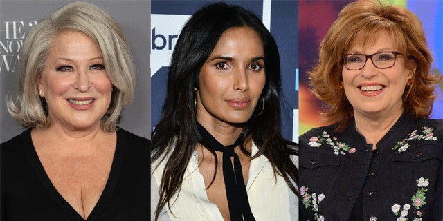 Bette Midler, Padma Lakshmi and Joy Behar spoke out on Twitter about the second impeachment trial of Donald Trump.