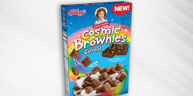 Little Debbie Cosmic Brownies cereal will be hitting store shelves in May, according to Kellogg's.