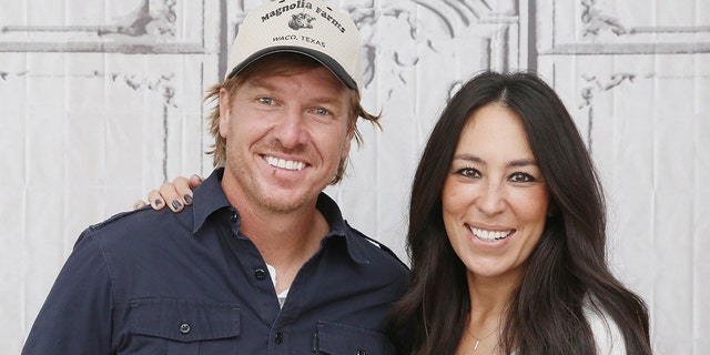 Chip and Joanna Gaines.  (Photo by Mireya Acierto/FilmMagic)