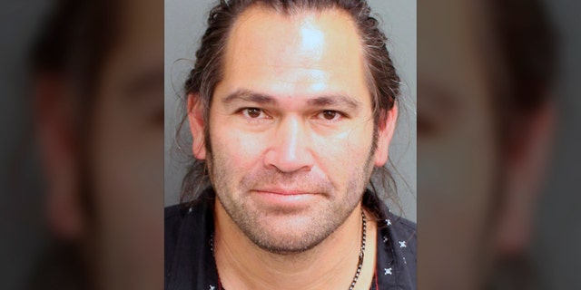 This photo provided by the Orange County, Fla. Corrections Department in Orlando, Fla., shows Johnny Damon. Former Major League Baseball player Johnny Damon was arrested Friday, Feb. 19, 2021, in central Florida on a charge of resisting an officer after he was pulled over for suspicion of driving under the influence, according to court and jail records. (AP)