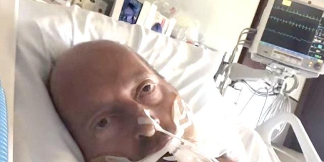 Chris Sickel, un piloto de Southwest Airlines de 49 años, finalmente se va a casa después de una batalla de dos meses contra COVID-19 en un hospital de Georgia. (Chris Sickel)