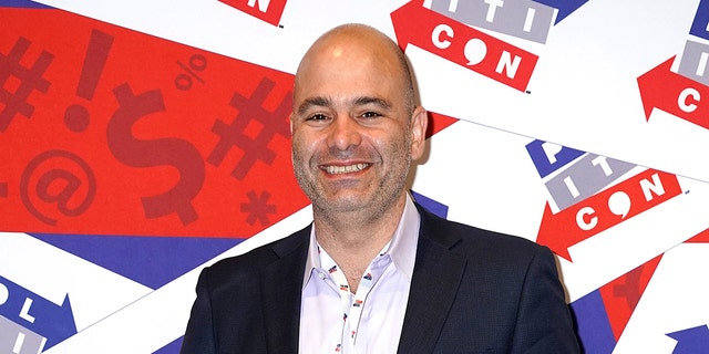 Mike Pesca pictured in 2019. (Photo by Ed Rode/Getty Images for Politicon)