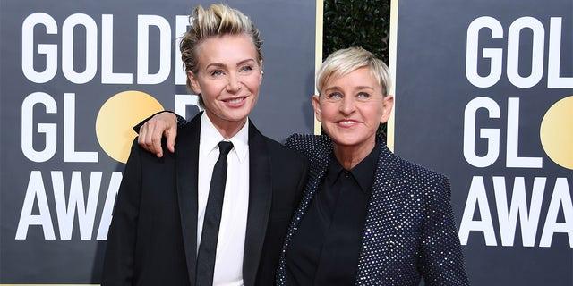Ellen DeGeneres says Portia de Rossi was her 'rock' during toxic work environment scandal: 'She kept me going'.jpg