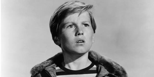 Fear strikes into the heart of 13-year-old Billy Gray in a scene from the film 'Talk About A Stranger', 1952.
