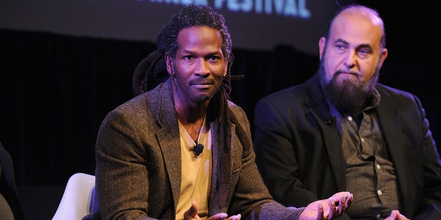Professors Carl Hart (L) and Mark Kleiman attend Blunt Talk...at the MasterCard stage at SVA Theatre during The New Yorker Festival 2014 on October 11, 2014 in New York City. (Photo by Bryan Bedder/Getty Images for The New Yorker)