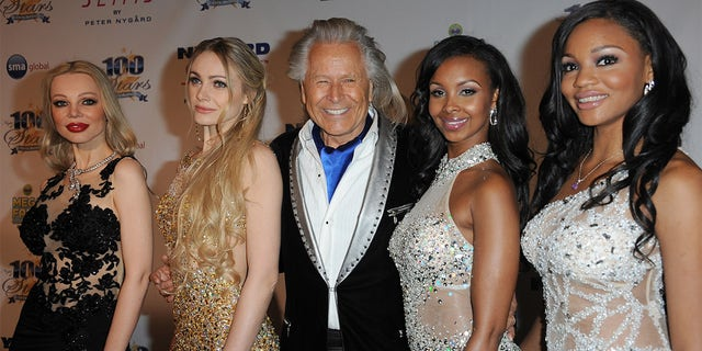 Designer Peter Nygard arrives for Norby Walters' 24th Annual Night Of 100 Stars Oscar Viewing Gala held at Beverly Hills Hotel on March 2, 2014, in Beverly Hills, California.