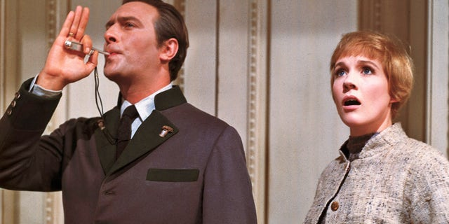 "Julie Andrews and Christopher Plummer in ""The Sound of Music."""