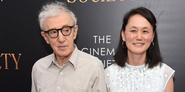 Woody Allen and Soon-Yi Previn spoke after the premiere of