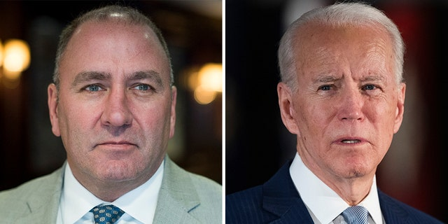 Louisiana Republican MP Clay Higgins presented President Biden with an environmental challenge on Tuesday - presenting a House resolution asking the president to live without any oil products.