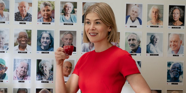 Rosamund Pike in Netflix's 'I Care a Lot,' in which she plays a caretaker that manages to sneak herself some extra cash until a client gives her a run for her money.