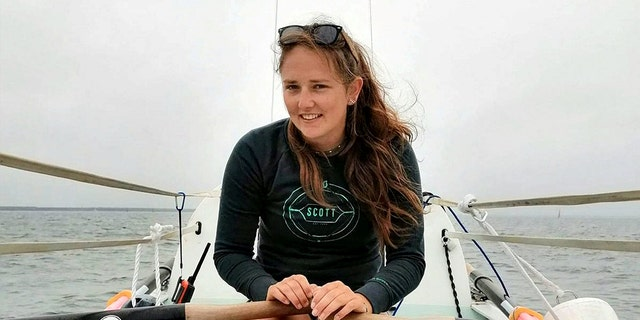 Jasmine Harrison of England has become the youngest woman to row solo across an ocean.