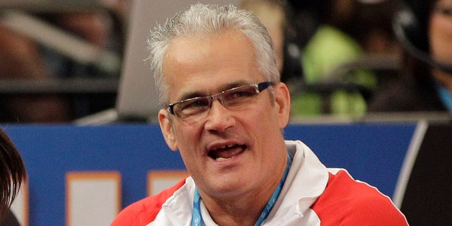 Prosecutors filed charges against Geddert, a former U.S. Olympics gymnastics coach with ties to disgraced sports doctor Larry Nassar. Geddert was head coach of the 2012 U.S. women's Olympic gymnastics team, which won a gold medal. (AP Photo/Kathy Willens, File)