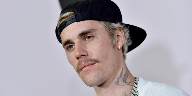 Justin Bieber recalled once spilling food on his date. (Photo by Axelle/Bauer-Griffin/FilmMagic)