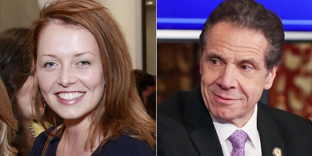 Lindsey Boylan and Andrew Cuomo (Photos: Bennett Raglin via Getty Images and SHAUN MADER/Patrick McMullan via Getty Images)