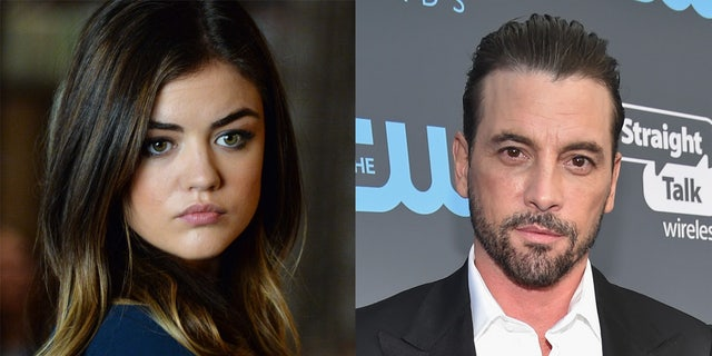 Lucy Hale, 31, is known for starring in 'Pretty Little Liars' while Skeet Ulrich, 51, is best known for appearing in 'Scream' and 'Riverdale.'