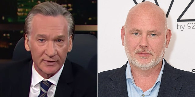 Bill Maher, left, and Steve Schmidt. (HBO/Getty Images)