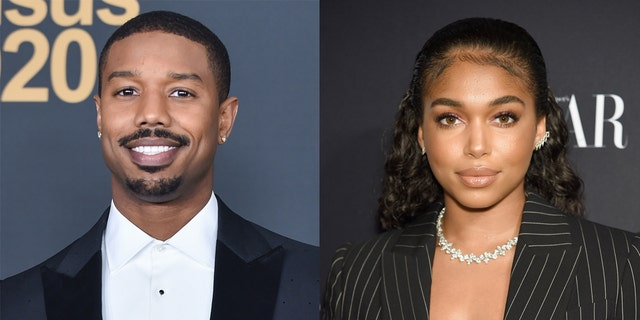 Actor Michael B. Jordan rented out an aquarium for a romantic evening with his girlfriend Lori Harvey on Valentine's Day.