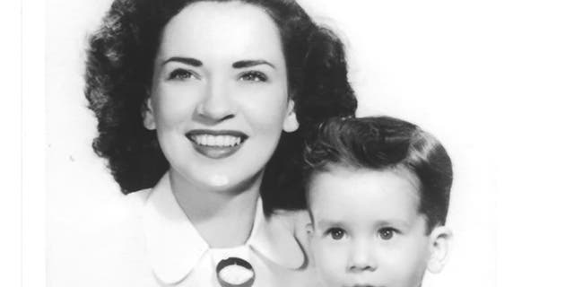 Singer Patti Palmer with her son Gary Lewis in 1947